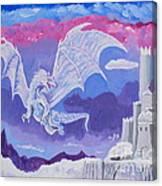 Dragon Castle Canvas Print