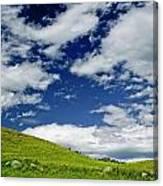 Dramatic Big Sky Canvas Print