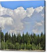 Dramatic Sky Marshall Lake Canvas Print