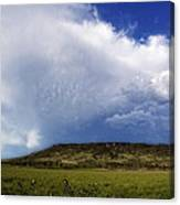 Dramatic Storm Over Table Rock Canvas Print