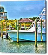 Dream Boat 2 Canvas Print