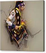 Pow Wow Dream Time Canvas Print