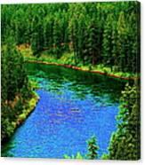 Dreamriver Canvas Print