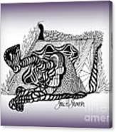 Dreams Of Metamorphosis Canvas Print