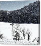 Dreams Of Snow  Canvas Print