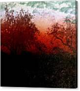 Dreamscape Sunset - Abstract Canvas Print
