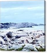 Dreamy Coastal Scene Canvas Print