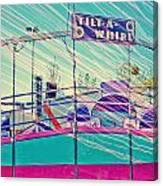 Dreamy Tilt-a-whirl Carnival Ride Canvas Print