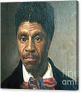Dred Scott, African-american Hero Canvas Print