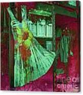 Dressy Feeling Canvas Print