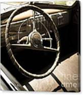 Driver's Seat Canvas Print