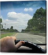 Drivers Window Canvas Print