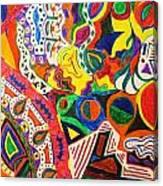 Droppin Acid Canvas Print