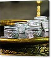 Drops Of Gold Canvas Print