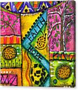 Drum Land Canvas Print