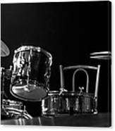Drummer Set Canvas Print