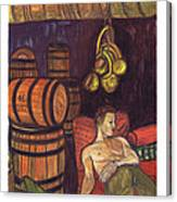 Drunken Arousal Canvas Print
