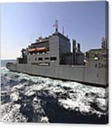 Dry Cargoammunition Ship Usns Richard Canvas Print