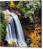 Dry Falls Or Upper Cullasaja Falls Canvas Print