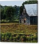 Drying Tobacco Barn Canvas Print