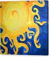 du Soleil Canvas Print