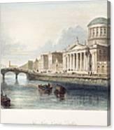 Dublin, 1842 Canvas Print