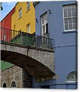 Dublin Castle In Dublin Ireland Canvas Print