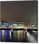 Dublin City Canvas Print