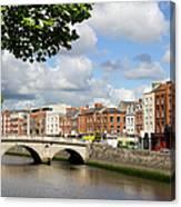 Dublin Cityscape Canvas Print