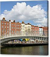 Dublin Scenery Canvas Print