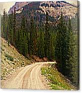 Dubois Mountain Road Canvas Print