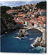 Dubrovnik By The Sea Canvas Print