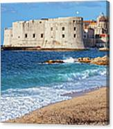 Dubrovnik Old Town In Croatia Canvas Print