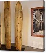 Duke Kahanamoku Surfboards Canvas Print