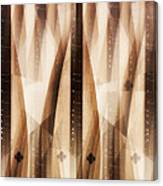 Dulcimer Abstract Canvas Print