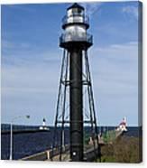 Duluth Lighthouses 1 Canvas Print