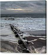 Dune Beach Winter Canvas Print