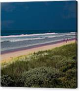 Dunes And Ocean Divided Canvas Print