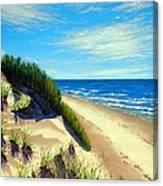 Dunes At Dalvay Canvas Print