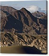 Dunes Of Death Valley Canvas Print