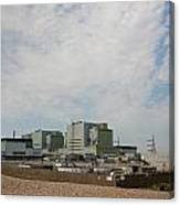 Dungeness Power Station Canvas Print