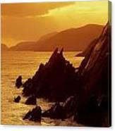 Dunmore Head, Dingle Peninsula, County Canvas Print