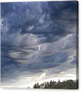Dupee Valley Sundown Img 432336---2012 Canvas Print