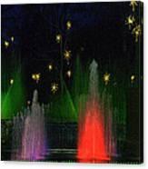 Dupont Gardens Singing Fountain Canvas Print
