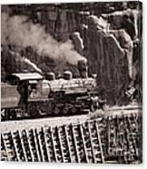 Durango And Silverton Steam Train Canvas Print