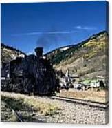 Durango And Silverton Train Canvas Print