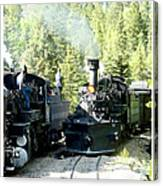 Durango Silverton Steam Locomotive Canvas Print
