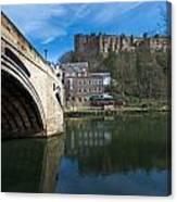 Durham Castle Canvas Print
