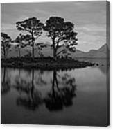 Dusk At Loch Maree Canvas Print