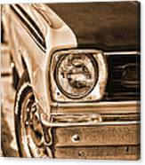 Duster 340 Canvas Print